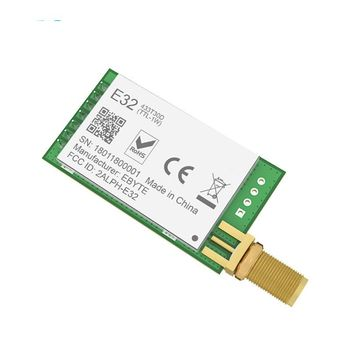 SX1278 SX1276 433MHz rf Module Transmitter Receiver 8000m E32-433T30D UART Long Range 433 MHz 1W Wireless rf Transceiver цена 2017
