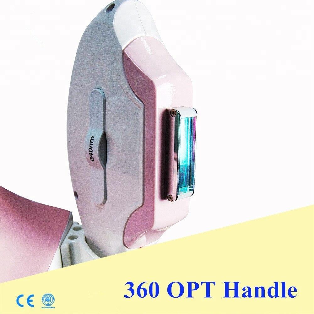 Economische epileren shr opt elight salon gebruik facial hair remover elektrische RoHS goedkeuring 360 magneto optic elight rf machine