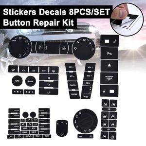 For VW For Volkswagen Touareg 04-09 Steering Wheel Windows Headlight Climate Switch Worn Button Auto Stickers Decals Replacement(China)