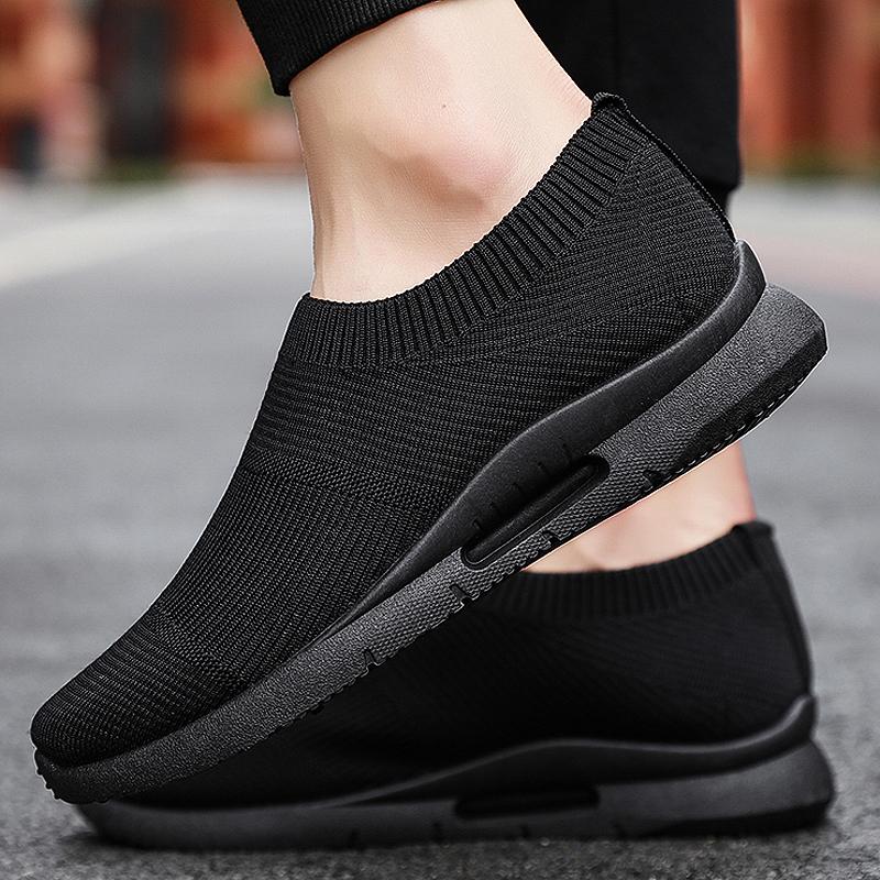 Men Vulcanize Shoes Mesh Casual Shoes Set Foot Mens Shoes Lightweight Sneakers Men  zapatillas mujer casual