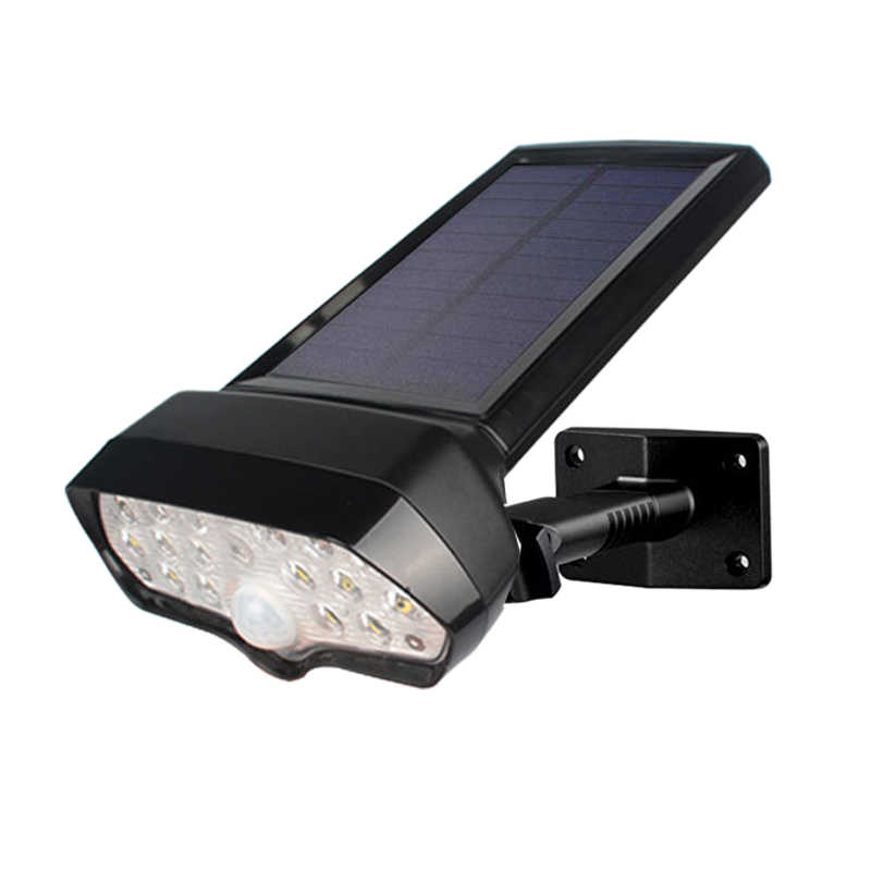 16 Leds Solar Light Pir Motion Sensor Solar Lamp Waterproof Solar Powered Spotlights Wall Lamp For Outdoor Garden Decoration