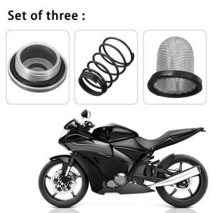 Image 2 - 1ชุดรถจักรยานยนต์สกู๊ตเตอร์อลูมิเนียมน้ำมันฤดูใบไม้ผลิสกรูเครื่องยนต์อุปกรณ์เสริมสำหรับ50 150cc GY6 Baotian Benzhou Znen Taotao