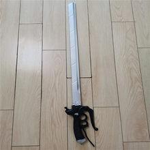 2 estilo de ataque em titan mikasa dupla faca ackerman espada rivamika levimika role playing filme jogo cosplay prop arma 95cm