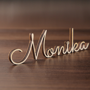 Personalized laser cut names Wedding place cards Name place settings wedding sign wedding names Laser cut Name tags for wedding