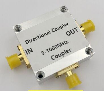 Coupleur directionnel sans fil 5 à 1000Mhz 10dB   Livraison gratuite, Mini-circuits RF, pour amplificateur de radio jambon 5 -1000Mhz