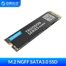 ORICO M.2 NGFF SSD 128GB 256GB 512GB 1TB M2 SATA SSD M.2 2280 dahili katı hal masaüstü için sabit disk dizüstü bilgisayar