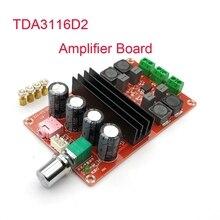 Audio-Board Amplifier Class-D HIFI Stereo Xh-M190-Tube TDA3116D2 Digital DC12-24V 2--100w