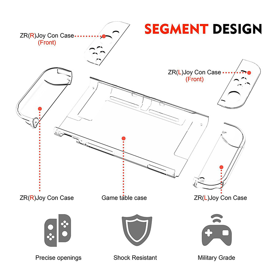 lowest price 5 in 1 game accessory set Cute Portable Pouch Cover For Nintendo Switch case Travel Carrying Bag for nintend switch lite Cases