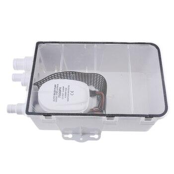 600GPH Shower Sump Pump Drain Kit Waste Water Shower Drain Container