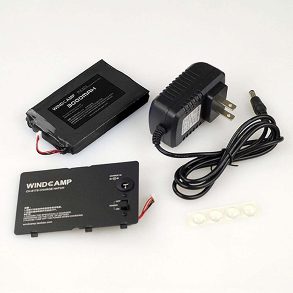 For WINDCAMP WLB-817S 3000mAh LIPO Battery For Yaesu FT-817 FT-818 +charger + Battery Cover