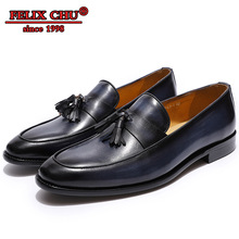 2019 FASHION BRITISH STYLE MENS DRESS SHOES GENUINE LEATHER CAP TOE LOAFERS SHOE BROWN BLACK MEN CASUAL SHOES FOR BANQUET PARTY цены онлайн