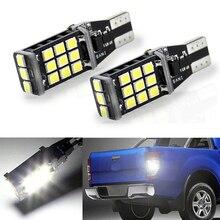 2x Canbus araba LED lamba W16W Led T15 2835 çip yedekleme ters ampul Volkswagen Tiguan Sharan Scirocco Skoda mükemmel