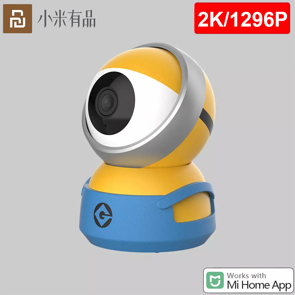Xiaomi chuangmi Smart Camera A1 Webcam 2K 1296P HD WiFi Pan-tilt Night Vision 360 Angle Video Camera View Baby Security Monitor