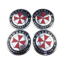 Tire Hub Car Stickers Auto Wheel Rim Badge Decoration For Daihatsu Corvette Honda Accord Mugen Land Rover Defender Aurora Luxgen