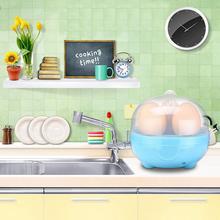 Auto-Off Mini Egg Cooker Boiling 3-Eggs Boiler Poacher Steamer Kitchen Tool*