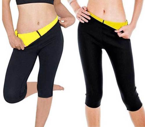 Fashion Women Short Slimming Pants Weight Loss Hot Thermo Sweat Sauna Neoprene Body Shapers