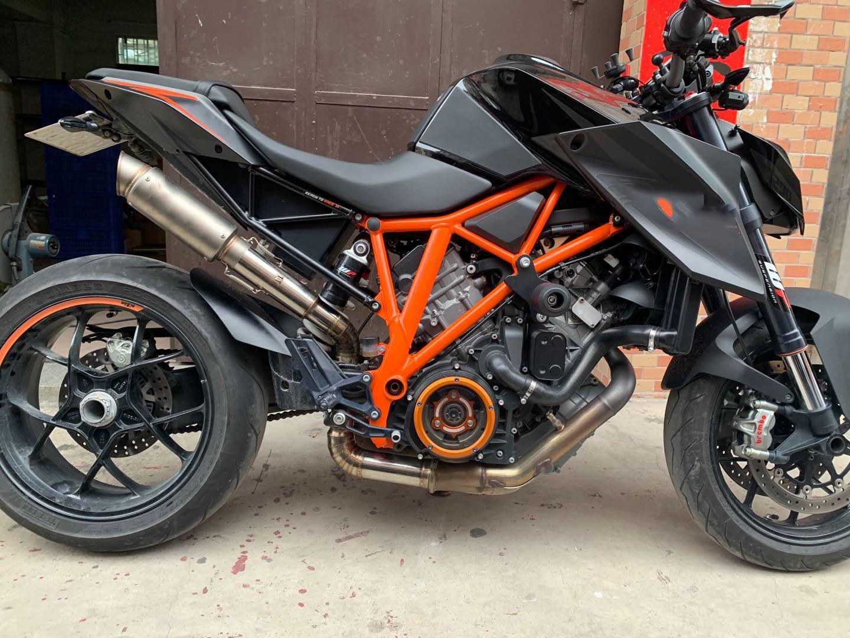 Купить мотоцикл титановый сплав средняя труба выхлопная система silp