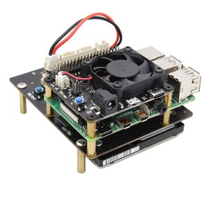 Image 5 - Raspberry Pi 4 Model B X735 Power Management & Auto Cooling Expansion Board with Safe Shutdown 5V Max,8A Output for Raspberry Pi