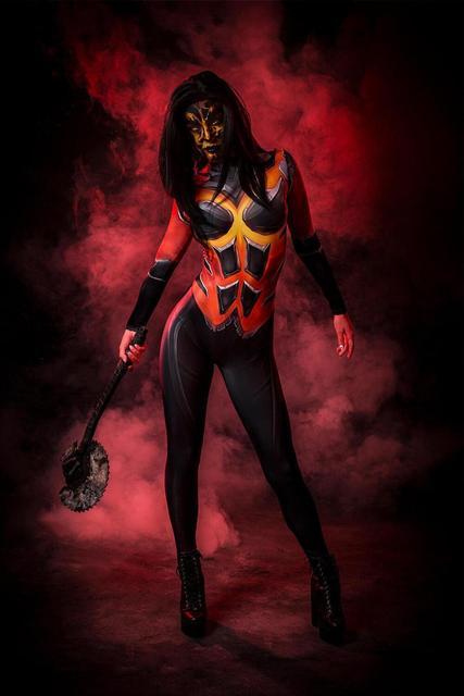 D.Va Costumes dva Destroyer Fuel Cosplay Bodysuit 3D Printed Zentai Suit Halloween Costume Adults Kids