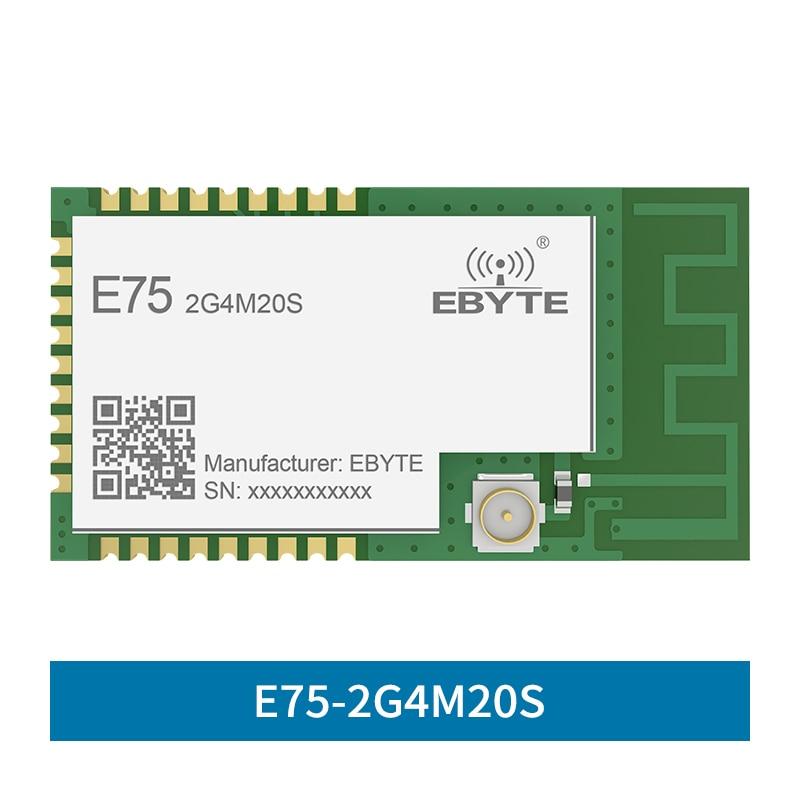 E75-2G4M20S JN5168 Zigbee 2.4GHz 100mW Wireless Transmitter Receiver SMD 20dBm PCB IPEX 2.4 GHz Rf Transceiver Module