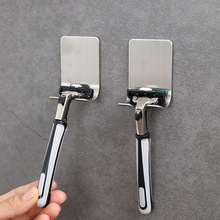 Hook Razor-Holder Stainless-Steel Hanger-Stand Shaver Self-Adhesive for 1-Pc Heavy-Duty