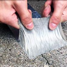 Ruban auto-adhésif étanche pour réparation de conduits, feuille d'aluminium butyle imperméable pour résistant aux hautes températures toit outil de rénovation domestique