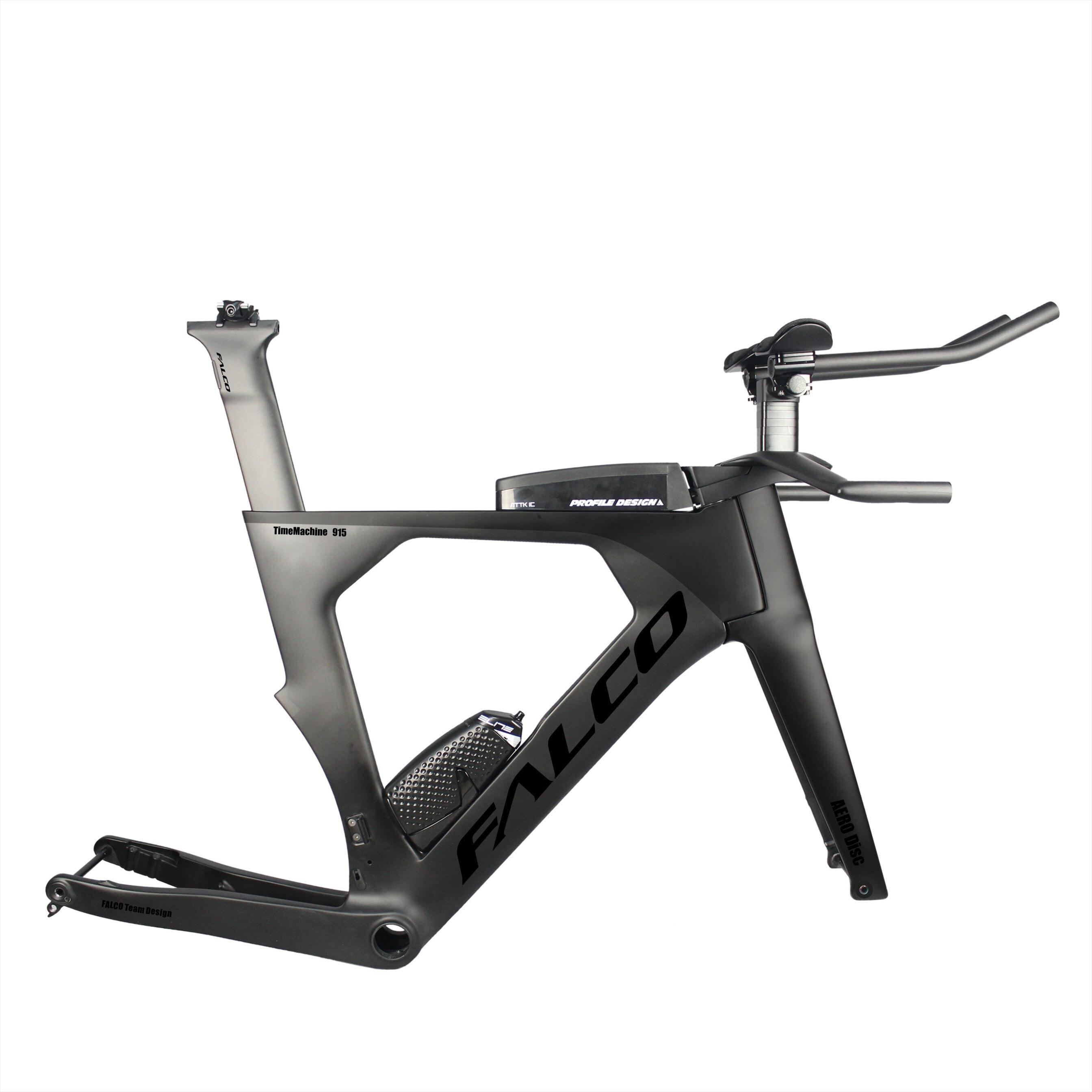 2019 Aero Disc Brake TT Bike Frame 700C Carbon Fiber Frame 142*12 Thru Axle Chinese Taiwan Bike Frame DI2 TT Carbon Frameset