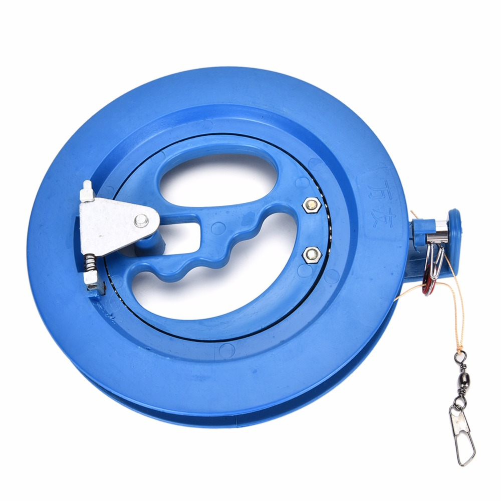 Cerf-volant enrouleur bobine avec 100m ligne connecteur enfants enfants Sport de plein air jouets cerfs-volants accessoires 15.5 cm offre spéciale