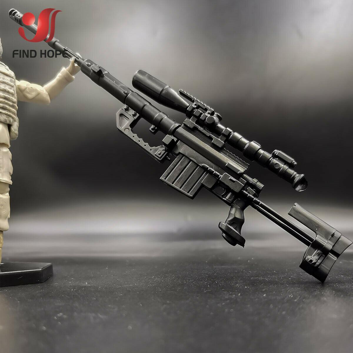 6Pcs 1//6 Scale 98K RPG G43rifle M200 Sniper Gun Model Assembly Gun Puzzles Brick