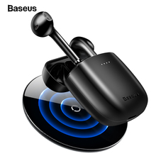 Baseus W04 Pro auriculares TWS, inalámbricos por Bluetooth 5,0, Mini auriculares intrauditivos inalámbricos para teléfonos Xiaomi