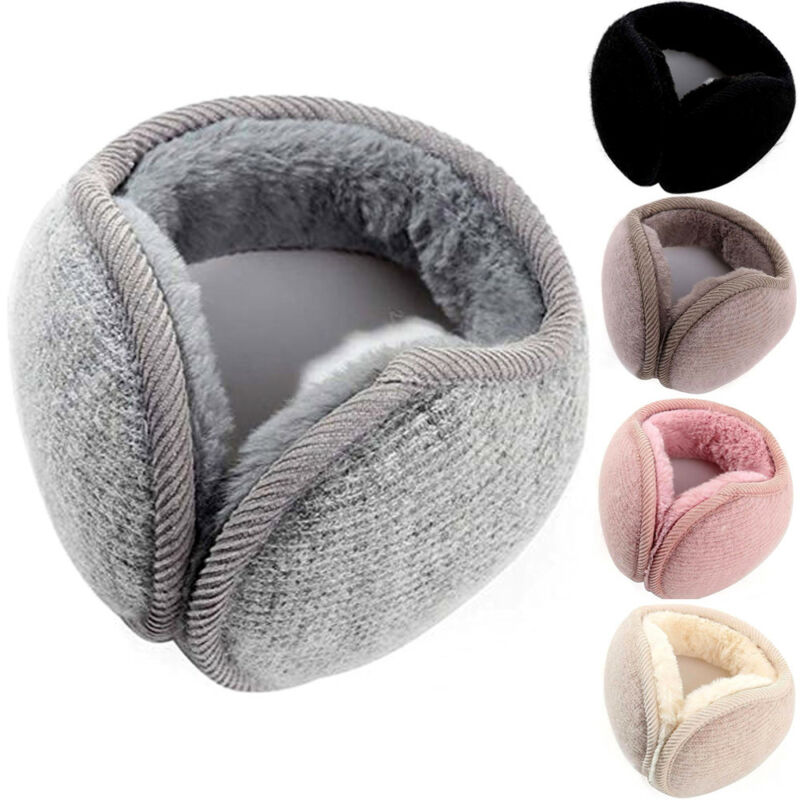 Winter Unisex Men And Women Casual Soft Fleece Rabbit Plush Warmer Earmuff Ear Muffs Cover Student Outdoor Activity Earwarmers