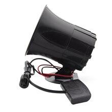 12V silnik samochodowy 3 Tone Siren głośny klakson głośnik pogotowia Alarm samochodowy dźwięk głośniki Alarm ostrzegawczy policja ogień syrena alarmowa
