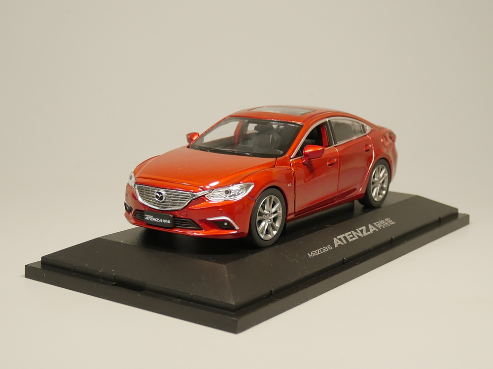 1:32 Mazda 6 ATENZA Diecast Model Car Alloy Toy Car Model