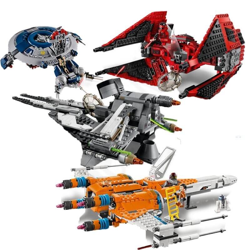 New 2020 Red Tie Fighter Star Wars  Building Blocks Bricks Kids StarWars Toys Gift 75240 75242 75273