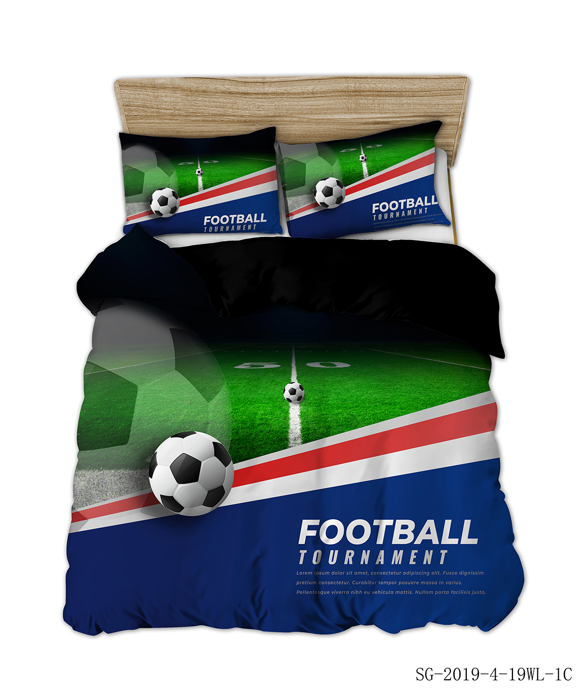 AHSNME Football Sport Bedding Set Basketball Duvet Cover Boy Birthday Gift Sports Bed Set 2/3pcs Single Bed Quilt Cover