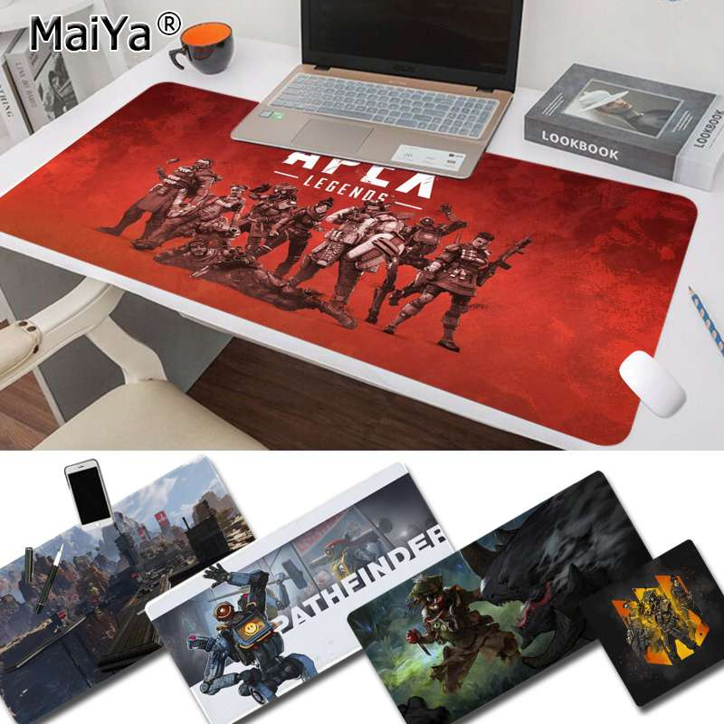Maiya Hot Sales Apex Legend Durable Rubber Mouse Mat Pad Free Shipping Large Mouse Pad Keyboards Mat