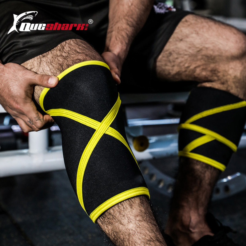 Hot Deal 54a181 Plus Size 7mm Neoprene Weightlifting Kneepad Compression Training Crossfit Knee Pads Basketball Knee Support Rodillera Deportiva Abs Ascolour Co