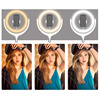 NEW Dimmable Ringlight 30cm 12inch Outer Photography LED Selfie Ring Light With Phone Holder For Video Live Studio microphone flash sale