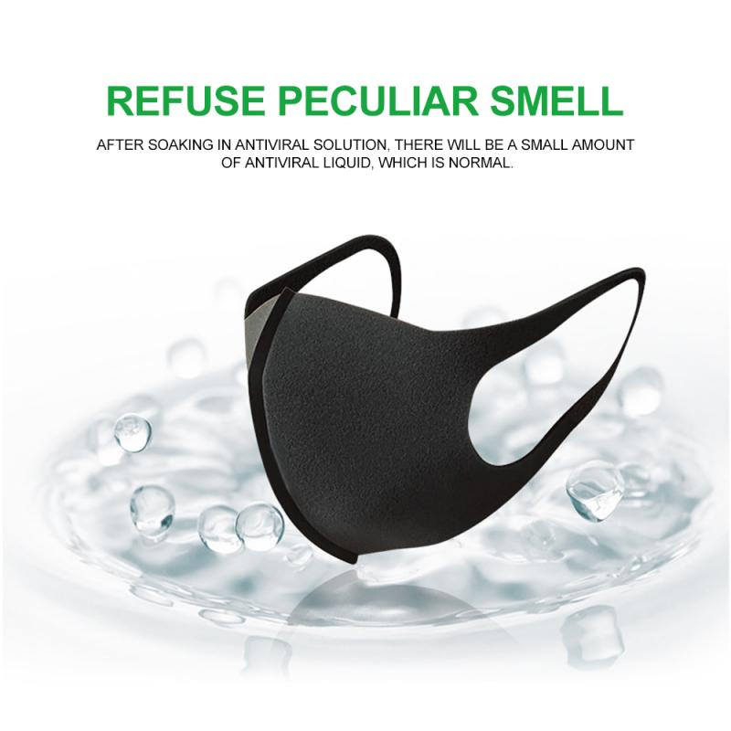 3pcs/lot Economical Washable Reusable Dust-proof Breathing Mask Anti-PM2.5 Anti Pollution Face Shield Wind Proof Mouth Cover