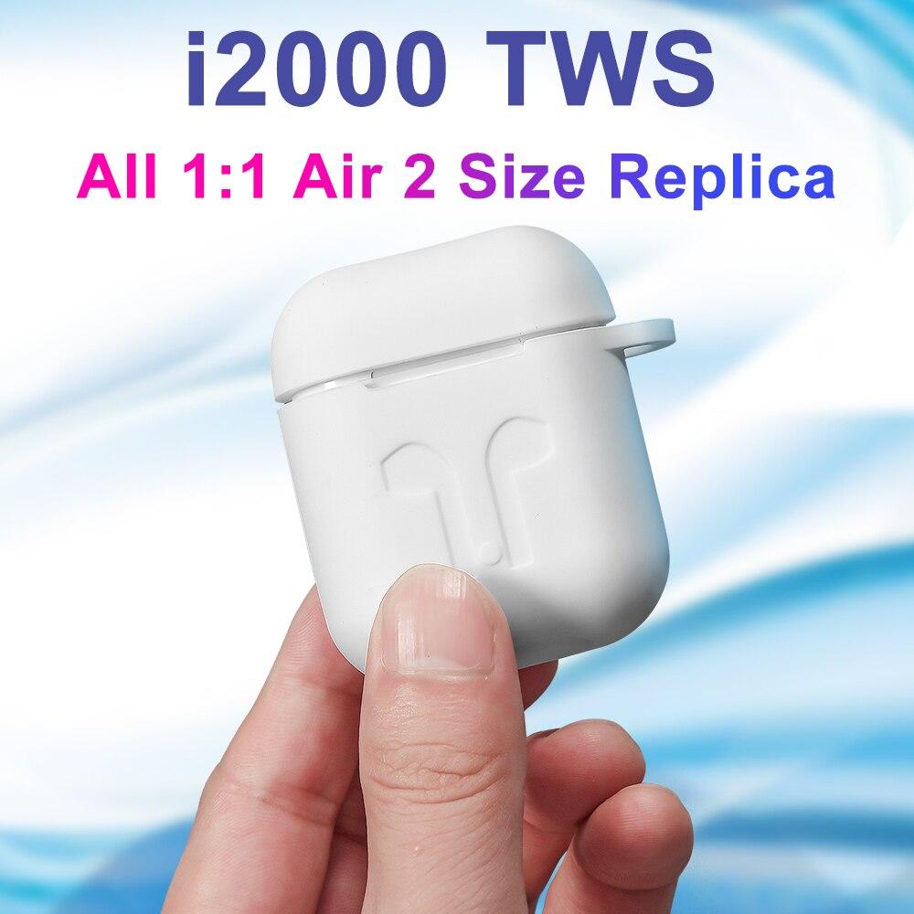 I2000 TWS Bluetooth 5.0 écouteurs sans fil écouteurs Pop up casques dans l'oreille détection écouteurs sans fil charge PK i100 i200 Air 2