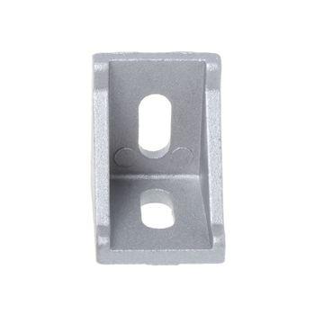 10 Uds 3030 accesorio de sujeción ángulo de 30x30x L conector soporte con Esquina de aluminio conjunto Brace WXTC