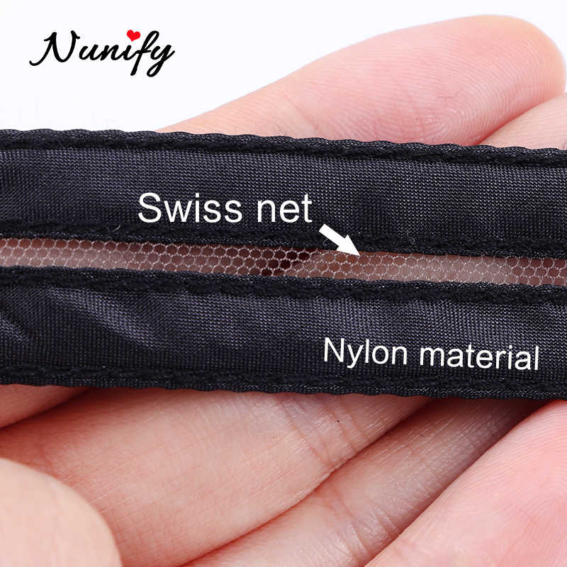Nunify Schwarz Schweizer Spitze Netto Komfortable Unsichtbaren Für Remy Haar Zubehör Spitze Verschluss Für Invisile Schließen Mode Perücke Werkzeuge