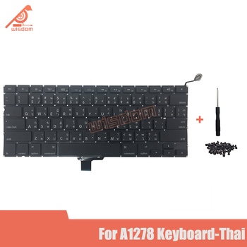 Full New A1278 Thai Laptop keyboard For Macbook Pro 13