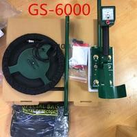 GS 6000 Mini Underground Metal Detector Treasure Hunter w/Headphone Max Depth 8.5m LED Screen