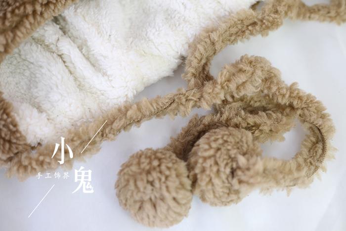 Японская пушистая Мягкая Милая и милая плюшевая шапка для косплея