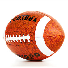 Rugby Ball American Football Size 9 Super Grip Composite Microfiber Recreation Play For Youth Outdoor Indoor Training Team Sport