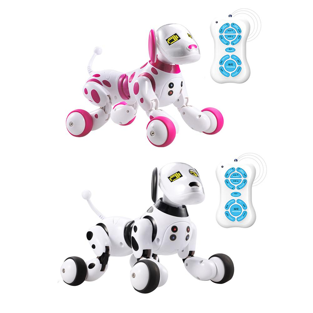 Newest High Quality Wireless Remote Control Programming Pet Smart Robot Dog Toys Talking Dog Pet Toys Gifts For Children