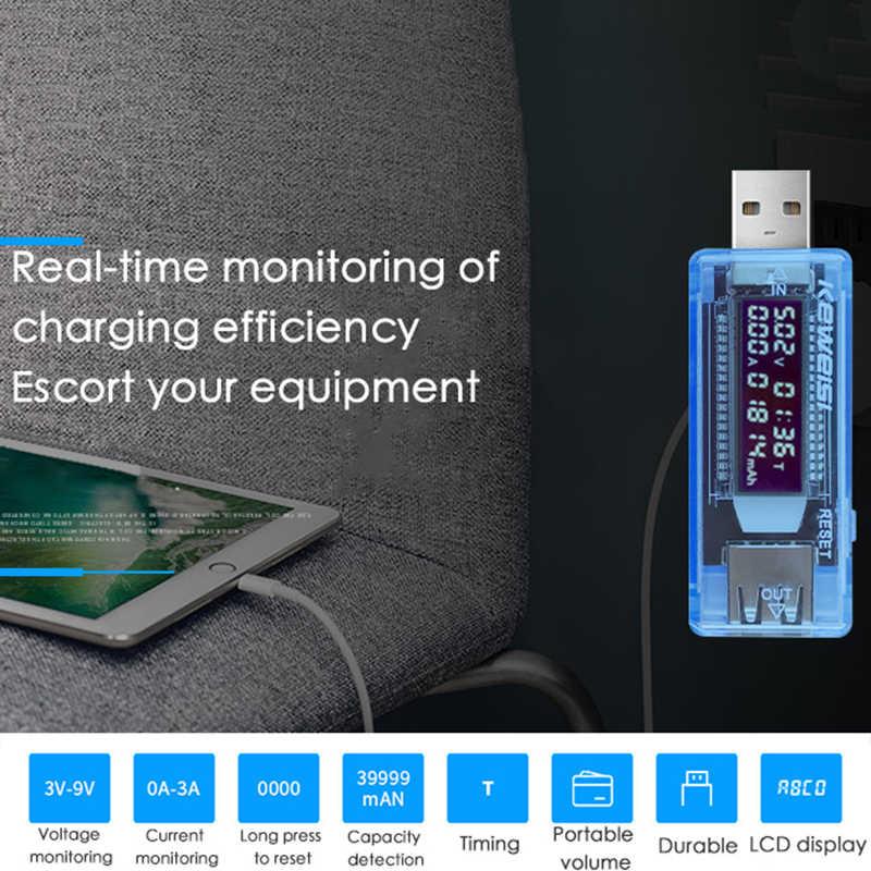 U96 13 In 1 USB Tester DC Voltmeter Digital Amperimetro Arus Tegangan Volt Meter Pengukur Amper Detector Power Bank Charger Indikator