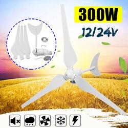 300W Wind Generator AC12V/24 V Wind Turbinen Wind Turbinen Generator mit 3 Nylon Fiber Blades für Hause solar Straßenbeleuchtung, boot