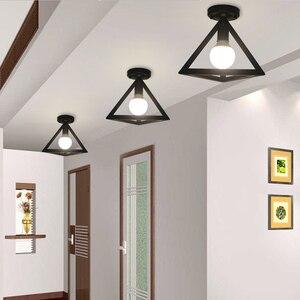 Image 2 - Ceiling light Modern ceiling lamp Metal loft decor lamp Industrial style home lighting bedroom Kitchen livingroom light fixtures